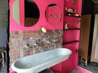 caravane Le Paradoxe Perdu, la salle de bains